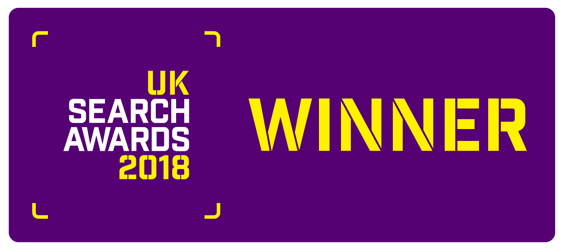 UK Search Awards Winner 2018